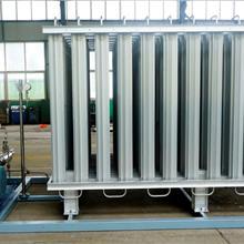 空温式汽化器 现货供液氧液氮液氩铝片气化器   河北端星