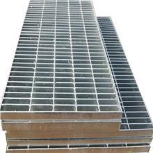爬梯踏步板 不锈钢盖板 电厂镀锌钢格板