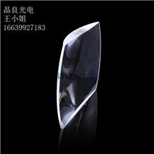 晶良光电厂家直销k9光学玻璃 凸透镜 大号放大镜 整形透镜 加工镀膜 光学元件