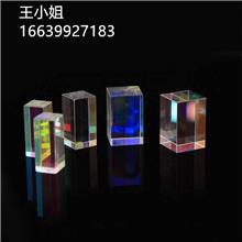 现货直发光学玻璃 合色棱镜 多面体 光之立方 加工定制各种规格棱镜透镜