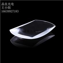 晶良光电加工k9光学玻璃 方形凸透镜 大号放大镜 整形透镜 加工镀膜 光学元件