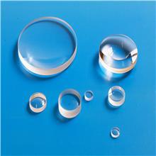 加工定制各种规格石英片耐高温石英透镜观察镜玻璃片厂家直供