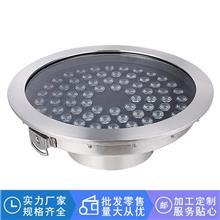水亿喷泉 不锈钢水下灯 LED喷泉水底灯 水池喷泉七彩灯 源头工厂
