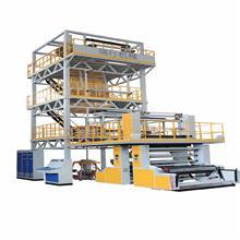 三至五层共挤吹膜机组 小型高压设备 小型胶带塑料包装机械