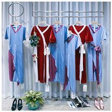 爱奢蒂醋酸缎面连衣裙 21夏款女装 商场专柜撤柜服装 名品女装折扣批发