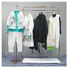 品牌折扣女装 江南布衣2020新款连衣裙 一二线品牌女装尾货货源 专柜撤柜