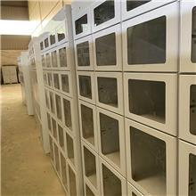 厂家供应304不锈钢通风鞋柜 加厚双面鞋柜 无尘车间鞋柜
