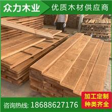 加工定制南美柚木防腐木南美柚木地板料板材口料批发柚木生产圆木