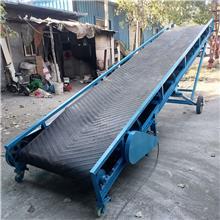 皮带机装车用可升降传送带 粮食装车皮带输送机 流水线 皮带输送机