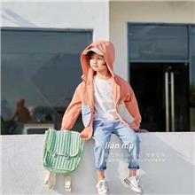 恋沐2020年秋款糖果色系品牌新款品牌棉衣 时尚服装批发批发男童装新款 大码尾货童装  批