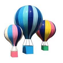 美陈开业落地热气球装饰婚庆商场中庭吊饰大型热气球摆件