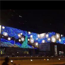 墙壁灯饰画 墙体灯饰画价格 led墙壁灯饰画制作