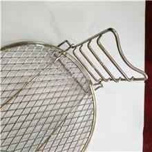 三银空气炸锅配件 不锈钢沥水架 烘干架 河北包边不锈钢网