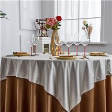 星与辰*酒店桌布大圆桌餐厅餐布饭店简约台布定制宴会长方形台布布艺布草