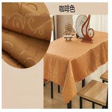 星与辰_方桌布酒店餐厅经典提花欧式轻奢风格