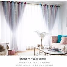 星与辰_专业主题酒店餐厅定制网红爆款布艺窗纱