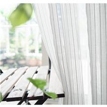 星与辰_深圳市连锁商务酒店西餐厅民宿定制夏季爆款轻盈布艺窗纱
