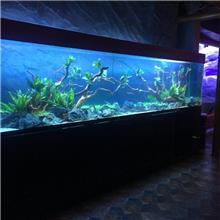 订制超市海鲜池_佛山德洋水族海鲜池厂_珠海定做超白特种玻璃海鲜池