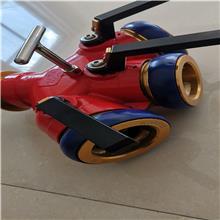 消防用分水器, 新型高压锻造带自锁功能二分水器,三分水器 明迪消防生产厂家,