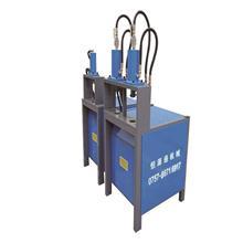 供应玻璃护角切45度角 铁艺管材冲90度成型机 方扁管通用切角机
