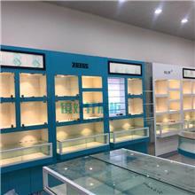 眼镜展柜厂家   眼镜柜台  镜好轩  眼镜中岛柜  工厂加工定制