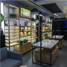 眼镜展示柜定做  眼镜高低柜  镜好轩  眼镜中岛柜  工厂直销  欢迎来电咨询