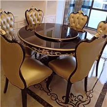 现代餐桌餐椅  圆形长方形台面  简约北欧风