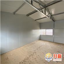双层彩钢板房 免费设计 便携式移动板房 经济实用 防火彩钢板房
