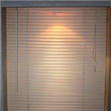 工厂直销  拉珠式铝百叶窗 遮光扇形柔纱帘 pvc百叶窗帘遮光帘厂家