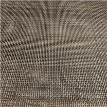 金属轧花不锈钢装饰网 平纹编织网墙金属装饰网 彩色装饰挂帘