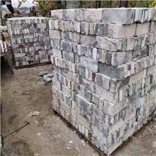 庭院装饰老青砖铺地 防滑垫脚石老石板供应