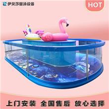 四川德阳伊贝莎游泳池设备-儿童游泳馆设备-婴儿游泳池设备厂家