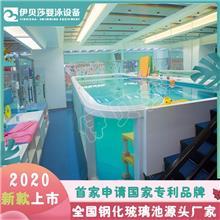 孝义市婴童游泳馆加盟店-婴儿游泳加盟店排名-钢化玻璃池-哈泊妮