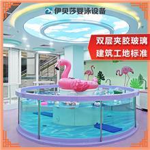 广东韶关钢化玻璃亲子游泳池-亲子游泳池设备-亲子游泳加盟-伊贝莎