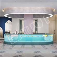 广东佛山钢化玻璃亲子游泳池-亲子游泳池设备-亲子游泳加盟-伊贝莎