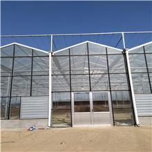 偃师玻璃板温室大棚工程 聚晟邦 双峰玻璃温室大棚造价