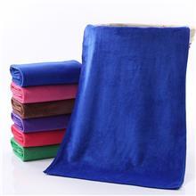 洗车专用毛巾擦车巾珊瑚绒加厚灰色吸水清洁超细纤维方巾定制logo