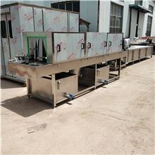 全自动洗筐机  多功能塑料筐子热水去污机器 全自动洗筐机  义康机械
