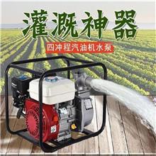 自吸式汽油机水泵 农田灌溉汽油离心泵 柴油自吸式抽水泵