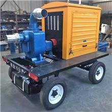 防汛移动泵车 防汛移动泵站 大流量应急抢险排水泵车 柴油自吸泵
