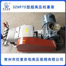 往复世佑试压泵压力检测系统管道试压;高压往复泵打压;