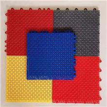 鑫奥供应 悬浮塑料地板 运动场拼装地板 彩色运动地板