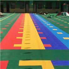 拼装地板 地胶轮滑平衡车地面 羽毛球场运动地板 批发 室内外悬浮地板