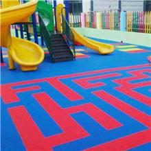 生产加工 拼装地板 羽毛球场运动地板 彩色塑料地板