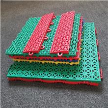 拼装地板 运动场拼装地板 地胶轮滑平衡车地面 出售 悬浮塑料地板