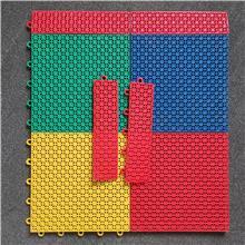 运动地板厂家 拼装米字地板 羽毛球场运动地板 生产出售 双层米格拼接地板