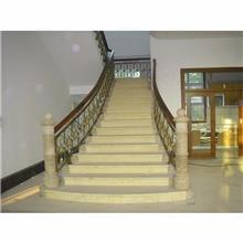 铝艺楼梯扶手 铝合金楼梯把手 别墅楼梯扶手 定制楼梯扶手