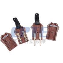 胶木插头/舞台灯光电源插头/手拉手对接公母插头/10A