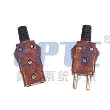胶木插头/舞台灯光电源插头/手拉手对接公母插头/40A