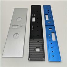 广播音箱面板  功放机面板 铝壳体型材 厂家供应
